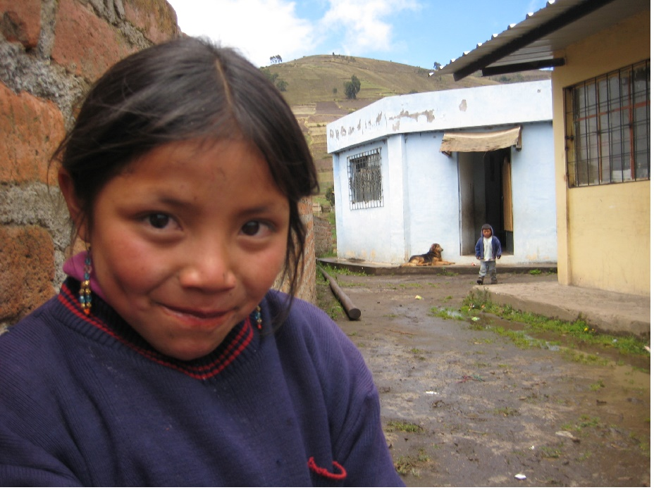 Young woman in Ecuador